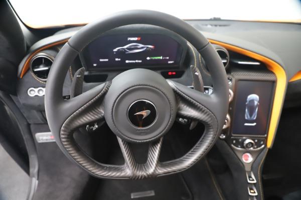 New 2020 McLaren 720S Spider Convertible for sale $374,440 at Alfa Romeo of Westport in Westport CT 06880 24