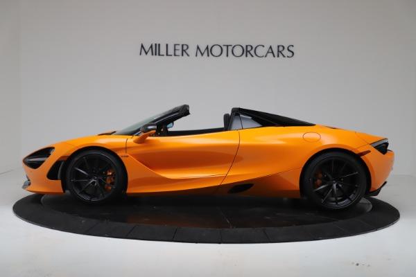 New 2020 McLaren 720S Spider Convertible for sale $374,440 at Alfa Romeo of Westport in Westport CT 06880 3