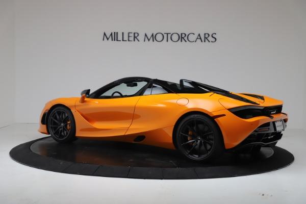New 2020 McLaren 720S Spider Convertible for sale $374,440 at Alfa Romeo of Westport in Westport CT 06880 4