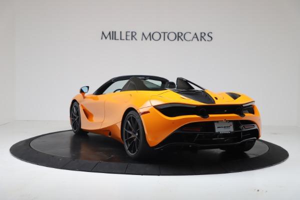 New 2020 McLaren 720S Spider Convertible for sale $374,440 at Alfa Romeo of Westport in Westport CT 06880 5