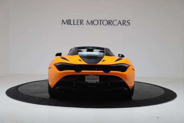New 2020 McLaren 720S Spider Convertible for sale $374,440 at Alfa Romeo of Westport in Westport CT 06880 6