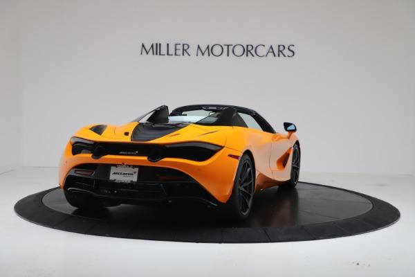 New 2020 McLaren 720S Spider Convertible for sale $374,440 at Alfa Romeo of Westport in Westport CT 06880 7