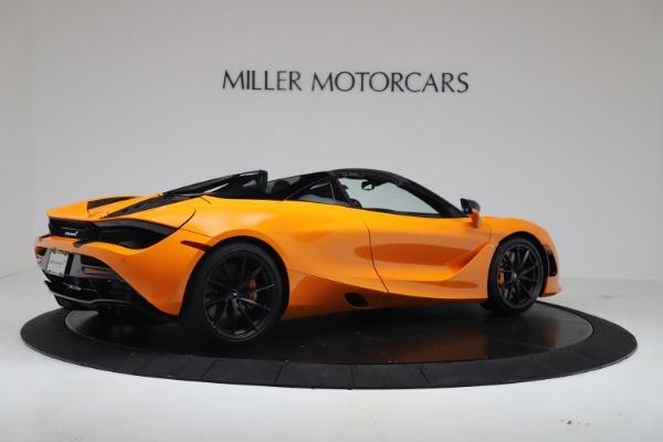 New 2020 McLaren 720S Spider Convertible for sale $374,440 at Alfa Romeo of Westport in Westport CT 06880 8