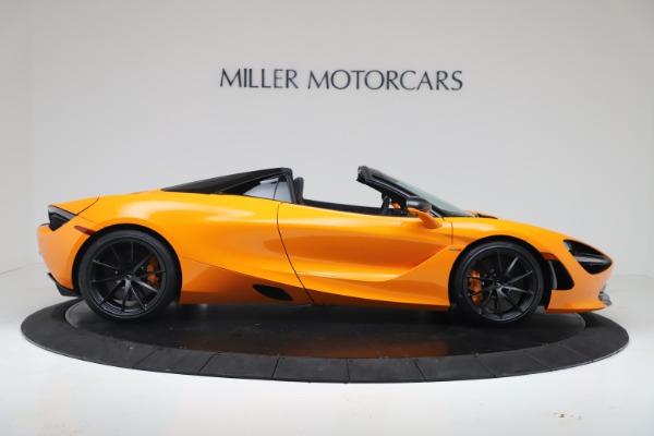 New 2020 McLaren 720S Spider Convertible for sale $374,440 at Alfa Romeo of Westport in Westport CT 06880 9