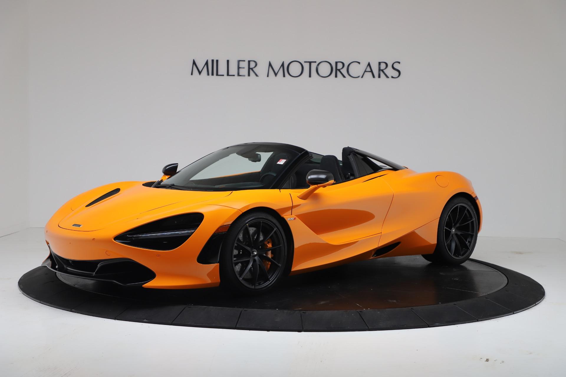 New 2020 McLaren 720S Spider Convertible for sale $374,440 at Alfa Romeo of Westport in Westport CT 06880 1