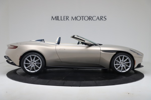New 2020 Aston Martin DB11 Volante Convertible for sale $255,556 at Alfa Romeo of Westport in Westport CT 06880 12
