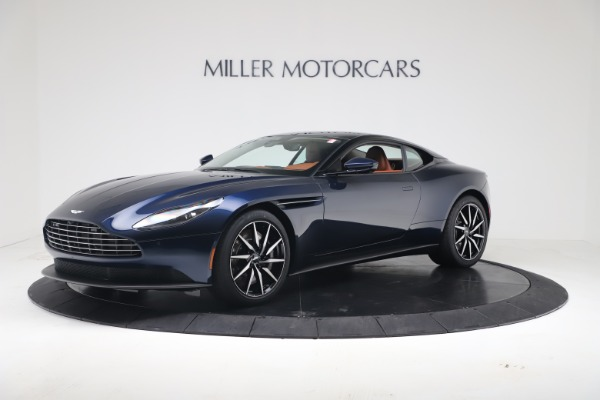 New 2020 Aston Martin DB11 V8 Coupe for sale $231,691 at Alfa Romeo of Westport in Westport CT 06880 1