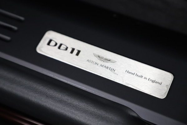 Used 2020 Aston Martin DB11 Volante Convertible for sale Sold at Alfa Romeo of Westport in Westport CT 06880 26