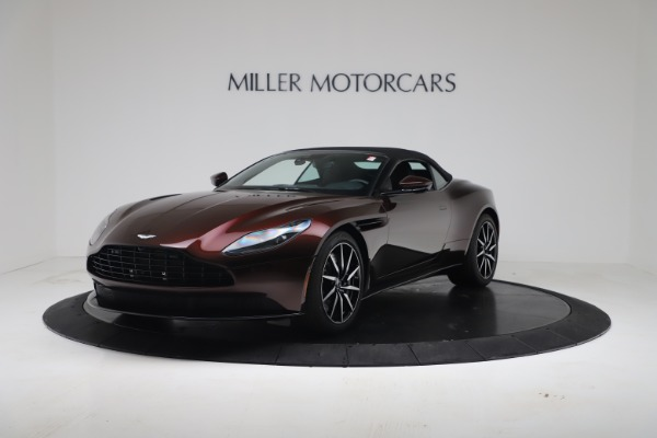 Used 2020 Aston Martin DB11 Volante Convertible for sale Call for price at Alfa Romeo of Westport in Westport CT 06880 4