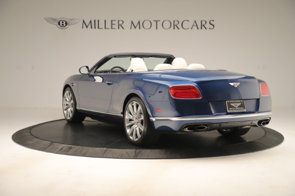 Used 2017 Bentley Continental GTC V8 for sale $152,900 at Alfa Romeo of Westport in Westport CT 06880 5
