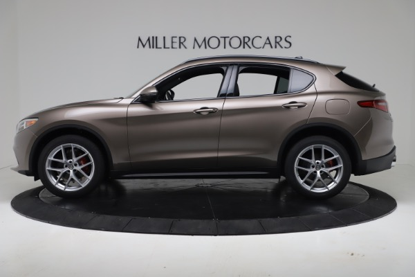 New 2019 Alfa Romeo Stelvio Ti Sport Q4 for sale $55,090 at Alfa Romeo of Westport in Westport CT 06880 3