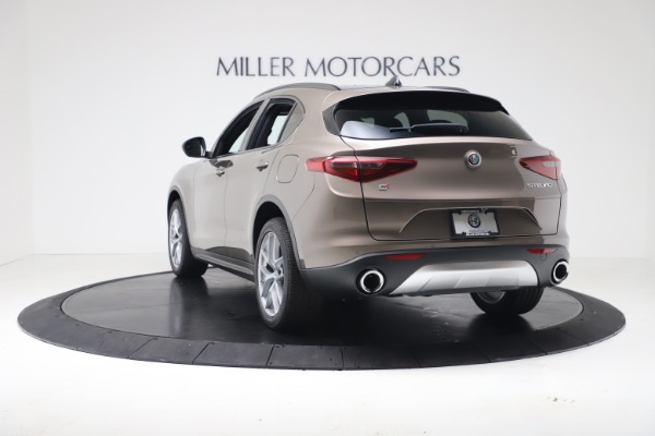 New 2019 Alfa Romeo Stelvio Ti Sport Q4 for sale $55,090 at Alfa Romeo of Westport in Westport CT 06880 5