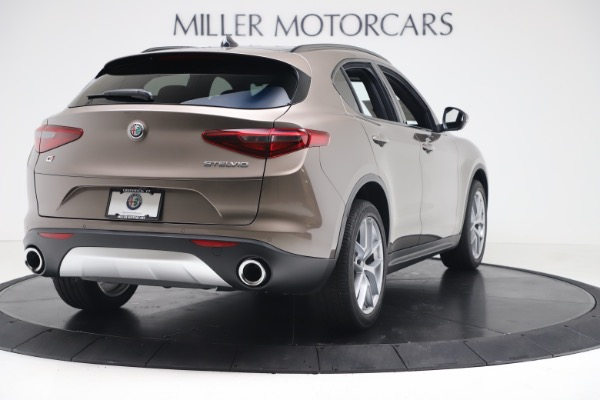 New 2019 Alfa Romeo Stelvio Ti Sport Q4 for sale $55,090 at Alfa Romeo of Westport in Westport CT 06880 7