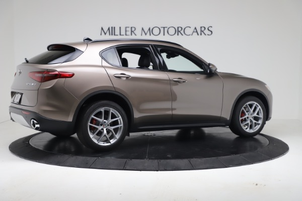 New 2019 Alfa Romeo Stelvio Ti Sport Q4 for sale $55,090 at Alfa Romeo of Westport in Westport CT 06880 8