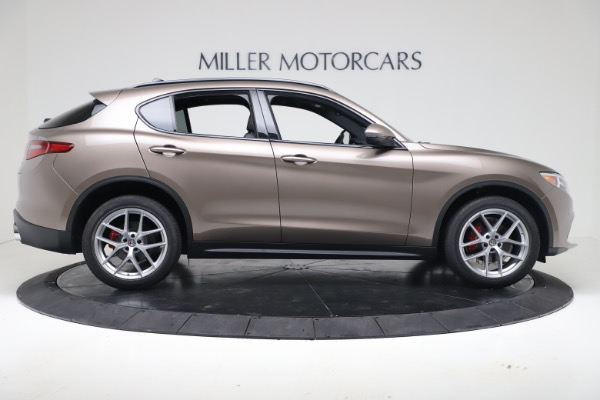 New 2019 Alfa Romeo Stelvio Ti Sport Q4 for sale $55,090 at Alfa Romeo of Westport in Westport CT 06880 9