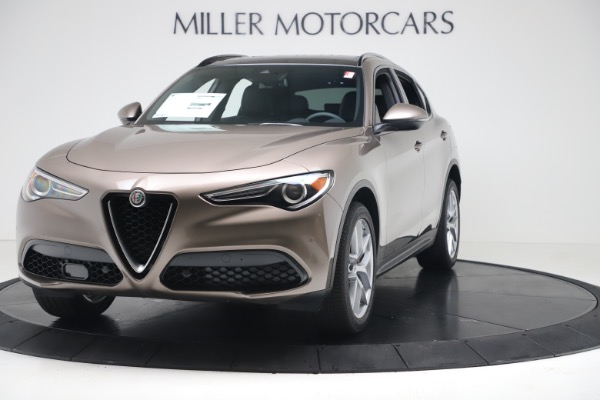 New 2019 Alfa Romeo Stelvio Ti Sport Q4 for sale $55,090 at Alfa Romeo of Westport in Westport CT 06880 1