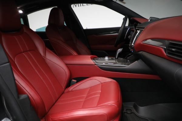 Used 2019 Maserati Levante Q4 GranSport for sale $69,900 at Alfa Romeo of Westport in Westport CT 06880 22