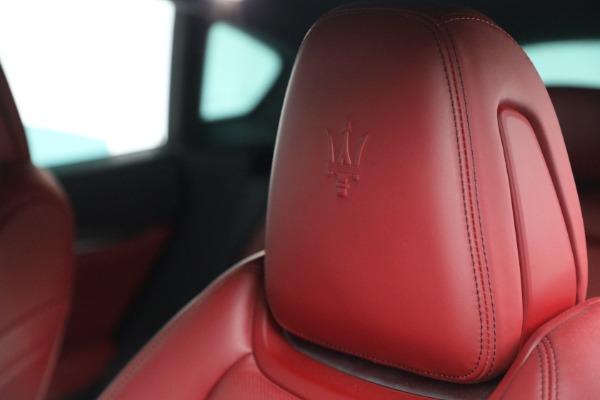 Used 2019 Maserati Levante Q4 GranSport for sale $69,900 at Alfa Romeo of Westport in Westport CT 06880 28