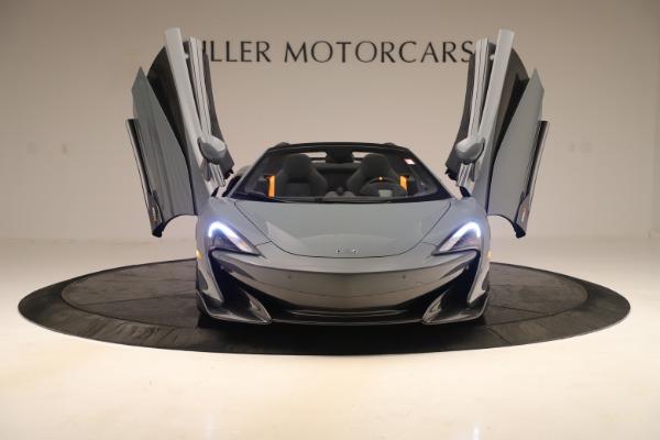 Used 2020 McLaren 600LT Spider for sale Call for price at Alfa Romeo of Westport in Westport CT 06880 12