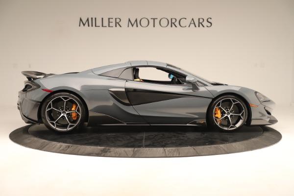 New 2020 McLaren 600LT SPIDER Convertible for sale Sold at Alfa Romeo of Westport in Westport CT 06880 19