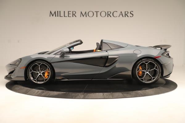 New 2020 McLaren 600LT SPIDER Convertible for sale Sold at Alfa Romeo of Westport in Westport CT 06880 2