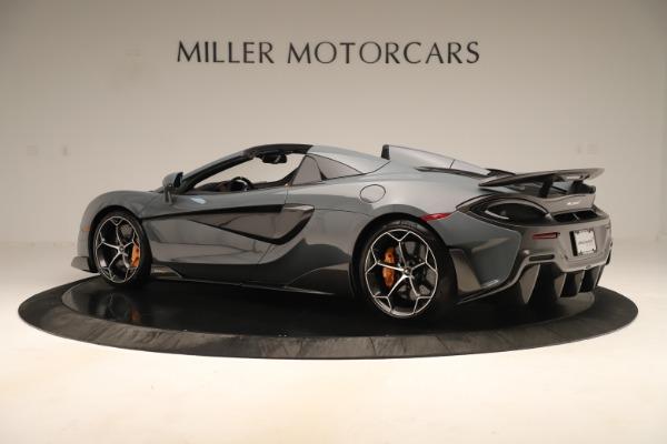 Used 2020 McLaren 600LT Spider for sale Call for price at Alfa Romeo of Westport in Westport CT 06880 3