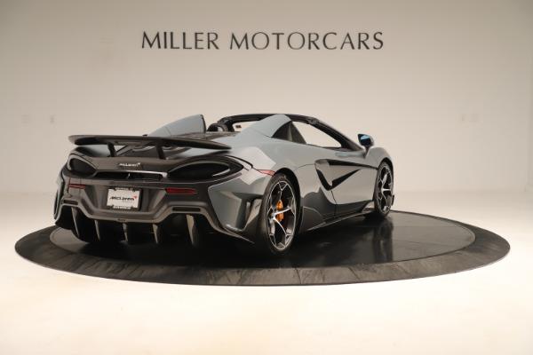 New 2020 McLaren 600LT SPIDER Convertible for sale Sold at Alfa Romeo of Westport in Westport CT 06880 6