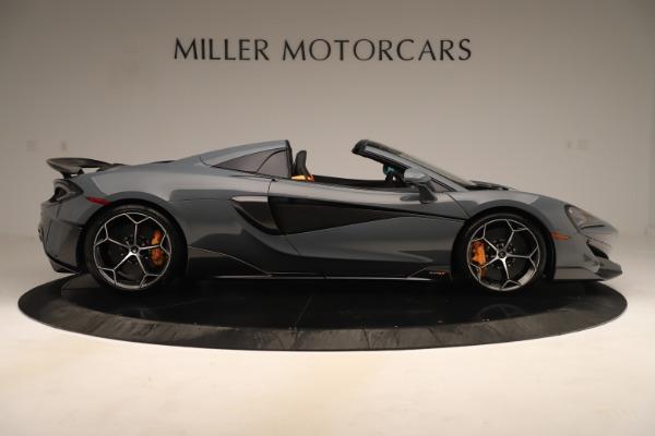 Used 2020 McLaren 600LT Spider for sale Call for price at Alfa Romeo of Westport in Westport CT 06880 8