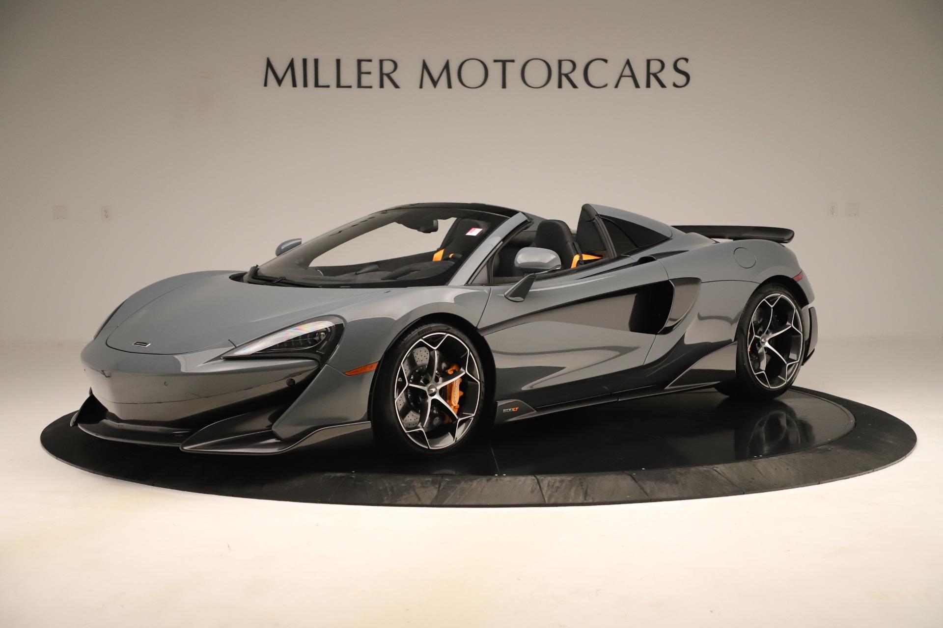 Used 2020 McLaren 600LT Spider for sale Call for price at Alfa Romeo of Westport in Westport CT 06880 1
