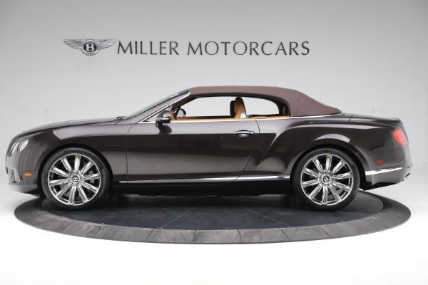 Used 2013 Bentley Continental GT W12 for sale Sold at Alfa Romeo of Westport in Westport CT 06880 14