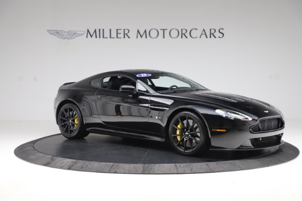 Used 2015 Aston Martin V12 Vantage S Coupe for sale Sold at Alfa Romeo of Westport in Westport CT 06880 9