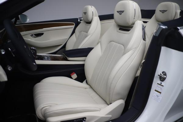 New 2020 Bentley Continental GTC V8 for sale Sold at Alfa Romeo of Westport in Westport CT 06880 25