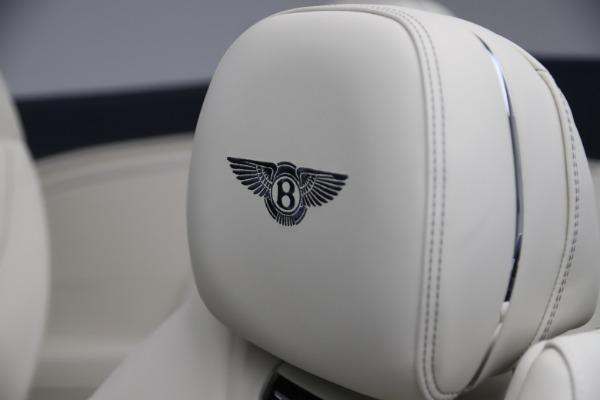 New 2020 Bentley Continental GTC V8 for sale Sold at Alfa Romeo of Westport in Westport CT 06880 26