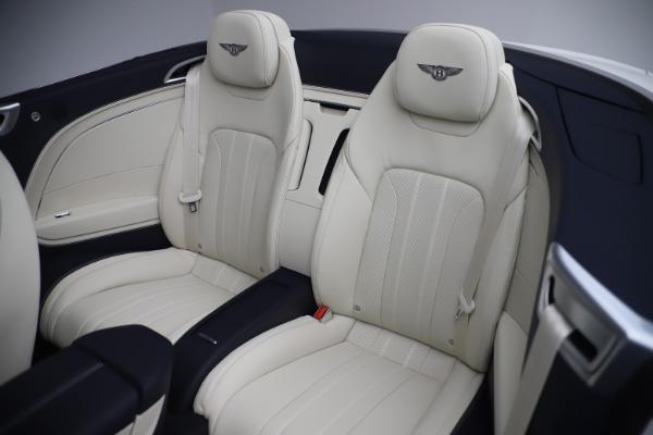 New 2020 Bentley Continental GTC V8 for sale Sold at Alfa Romeo of Westport in Westport CT 06880 27