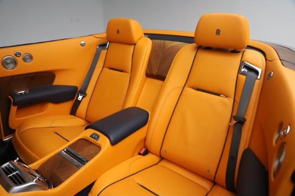 Used 2017 Rolls-Royce Dawn for sale $265,900 at Alfa Romeo of Westport in Westport CT 06880 21
