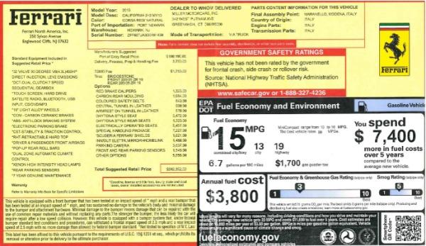Used 2013 Ferrari California 30 for sale Sold at Alfa Romeo of Westport in Westport CT 06880 27