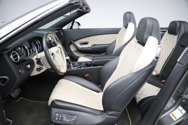 Used 2016 Bentley Continental GTC V8 S for sale Sold at Alfa Romeo of Westport in Westport CT 06880 24