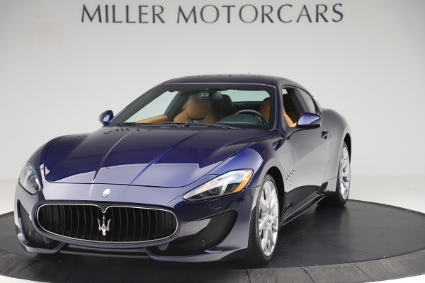 Used 2016 Maserati GranTurismo Sport for sale Sold at Alfa Romeo of Westport in Westport CT 06880 1