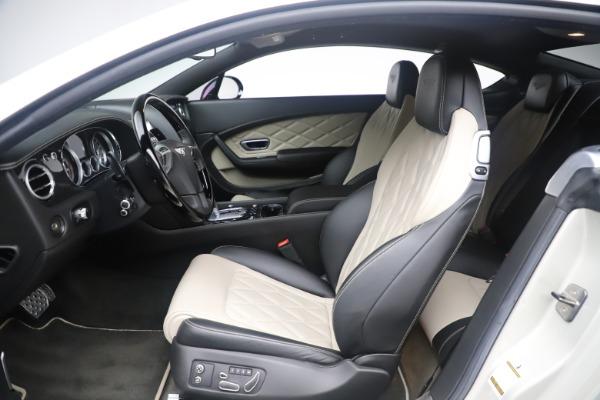 Used 2014 Bentley Continental GT V8 S for sale Sold at Alfa Romeo of Westport in Westport CT 06880 18