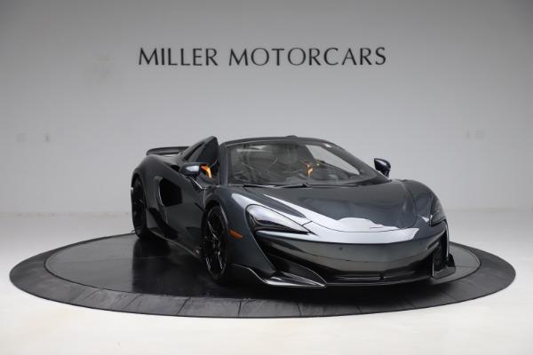 New 2020 McLaren 600LT SPIDER Convertible for sale $309,620 at Alfa Romeo of Westport in Westport CT 06880 10