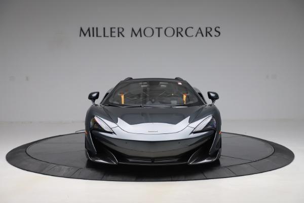 New 2020 McLaren 600LT SPIDER Convertible for sale $309,620 at Alfa Romeo of Westport in Westport CT 06880 11
