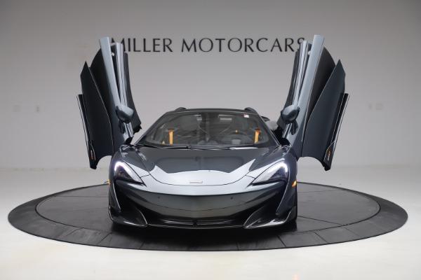 New 2020 McLaren 600LT SPIDER Convertible for sale $309,620 at Alfa Romeo of Westport in Westport CT 06880 12