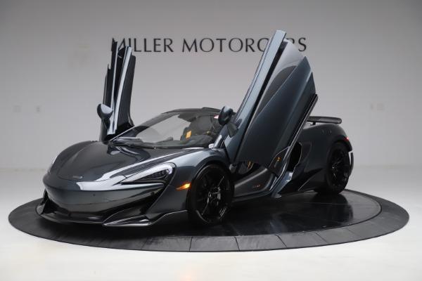 New 2020 McLaren 600LT SPIDER Convertible for sale $309,620 at Alfa Romeo of Westport in Westport CT 06880 13