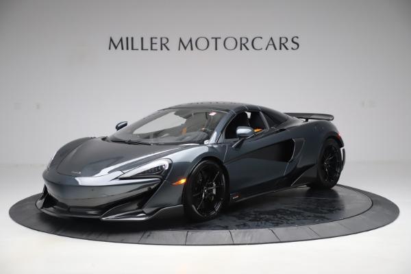 New 2020 McLaren 600LT SPIDER Convertible for sale $309,620 at Alfa Romeo of Westport in Westport CT 06880 14