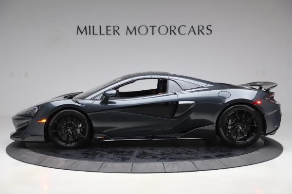 New 2020 McLaren 600LT SPIDER Convertible for sale $309,620 at Alfa Romeo of Westport in Westport CT 06880 15