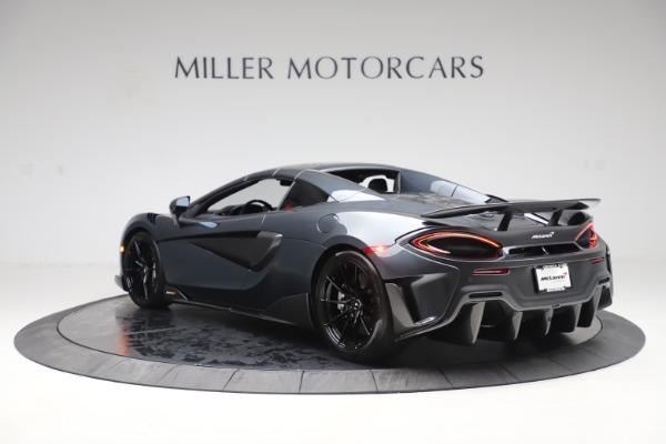 New 2020 McLaren 600LT SPIDER Convertible for sale $309,620 at Alfa Romeo of Westport in Westport CT 06880 16