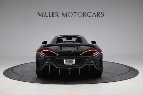 New 2020 McLaren 600LT SPIDER Convertible for sale $309,620 at Alfa Romeo of Westport in Westport CT 06880 17