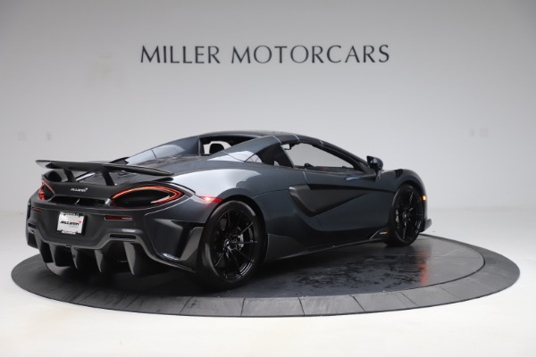 New 2020 McLaren 600LT SPIDER Convertible for sale $309,620 at Alfa Romeo of Westport in Westport CT 06880 18