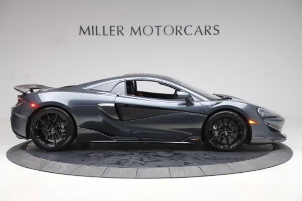 New 2020 McLaren 600LT SPIDER Convertible for sale $309,620 at Alfa Romeo of Westport in Westport CT 06880 19