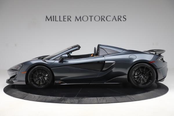 New 2020 McLaren 600LT SPIDER Convertible for sale $309,620 at Alfa Romeo of Westport in Westport CT 06880 2